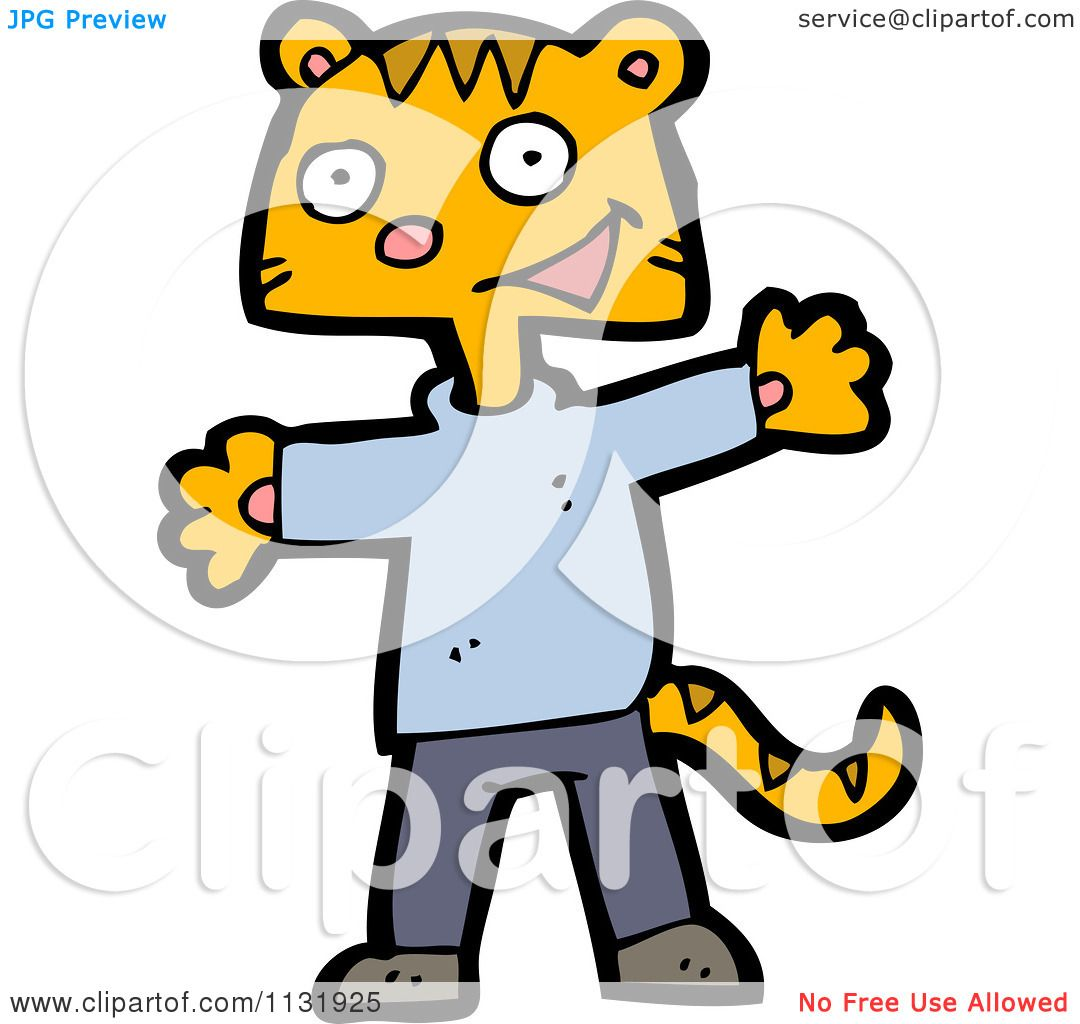 Cat Wearing Clothes Clipart Ginger Cat Wearing Clothes