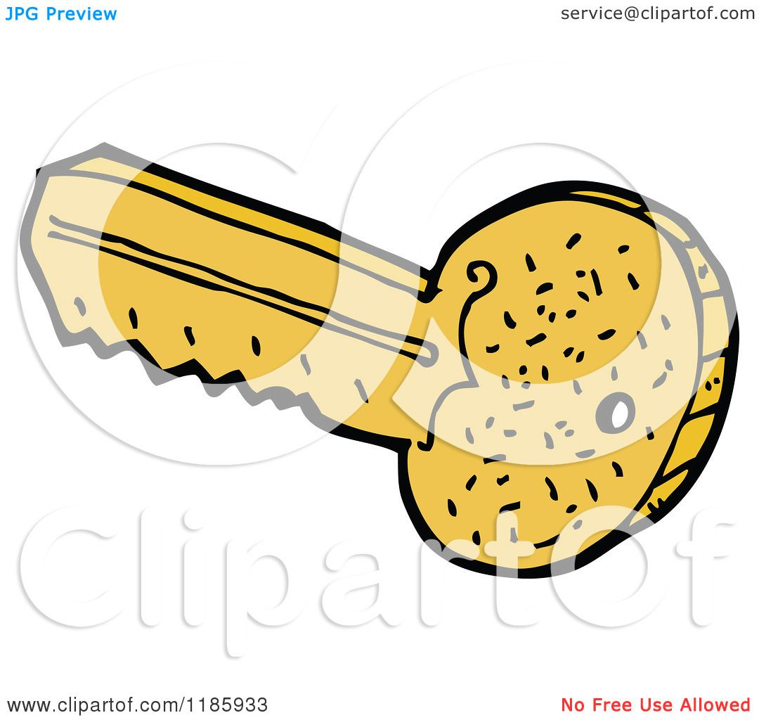 Vector Key Illustration: Royalty Free Vector Illustration