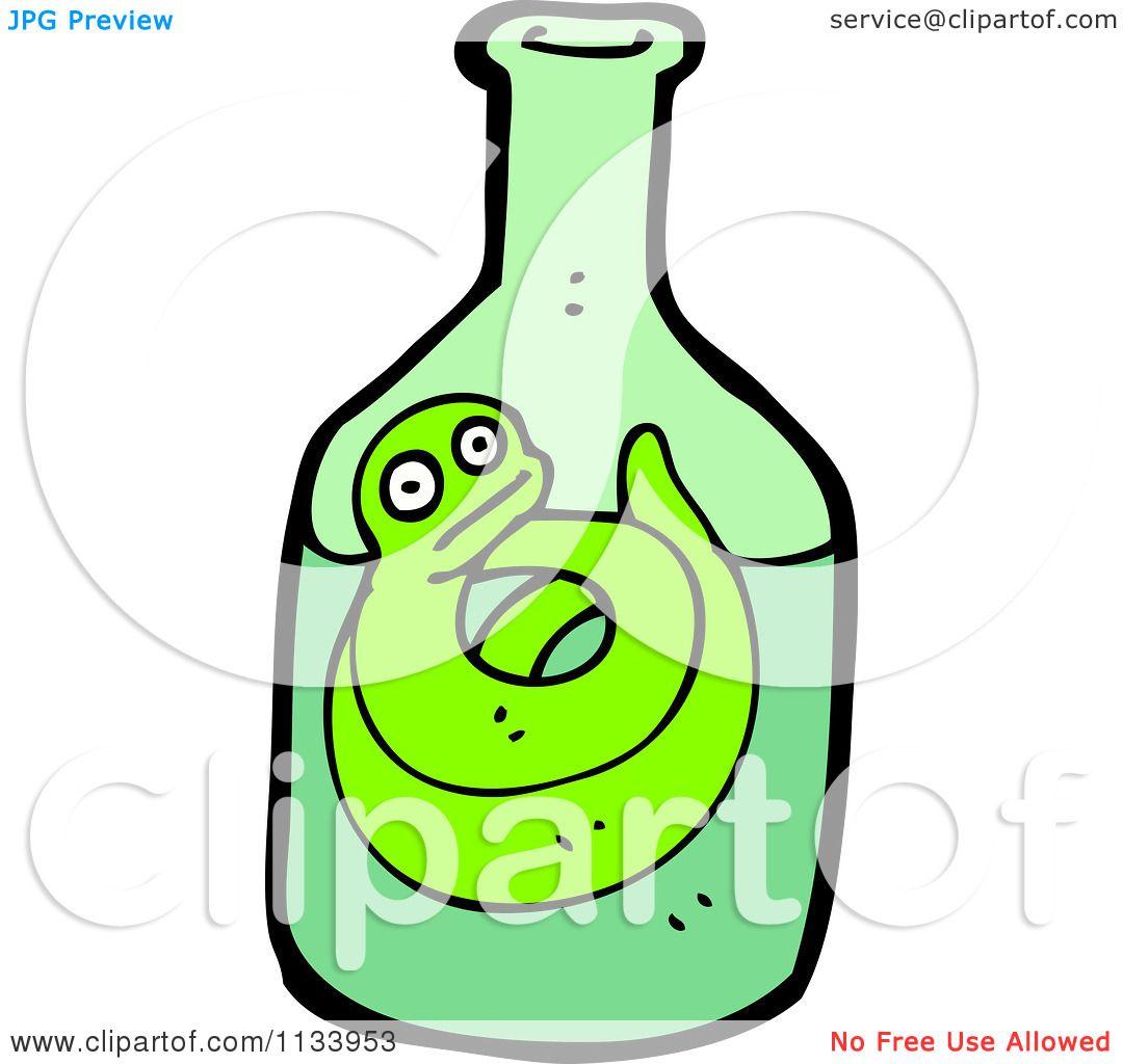 Green snake cartoon royalty free stock image image 19462406 - Cartoon Of A Green Snake In A Bottle 1 Royalty Free Wallpaper Gallery Snake In