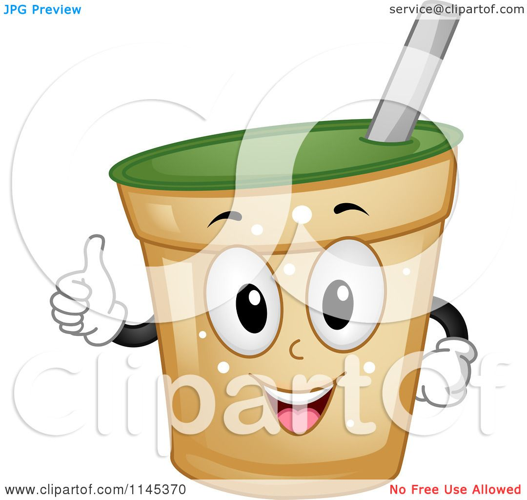 Larger preview vector clip art of a happy yellow coffee cup character - Cartoon Of A Happy Beverage Cup Mascot Holding A Thumb Up Royalty Free Vector Clipart Preview Clipart