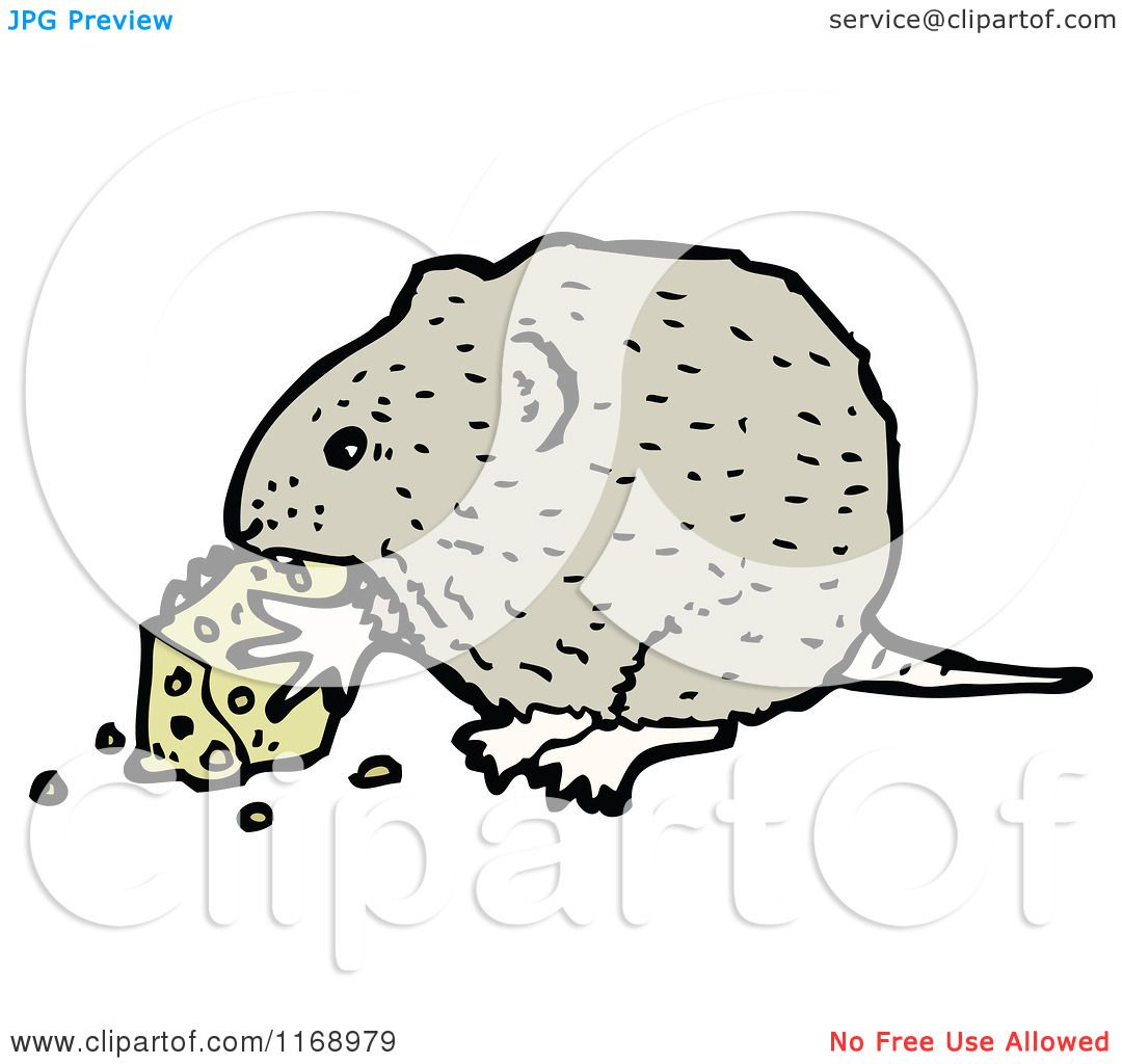 clipart mouse eating cheese - photo #33