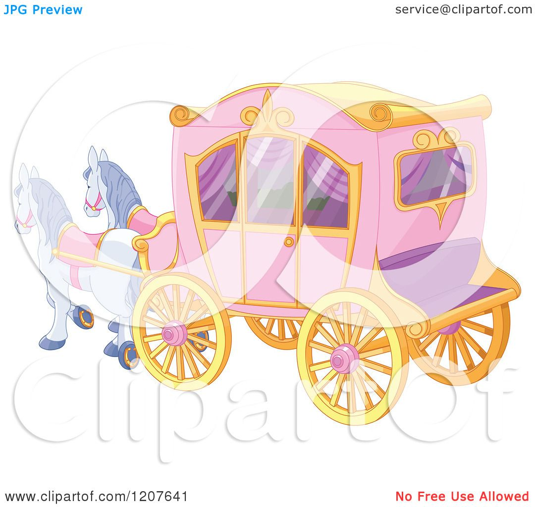 Horse Drawn Carriage Clipart Tale Horse Drawn Carriage
