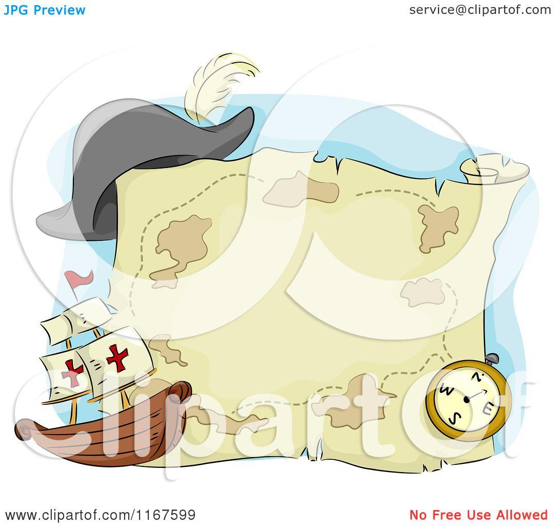Cartoon of a Pirate Ship