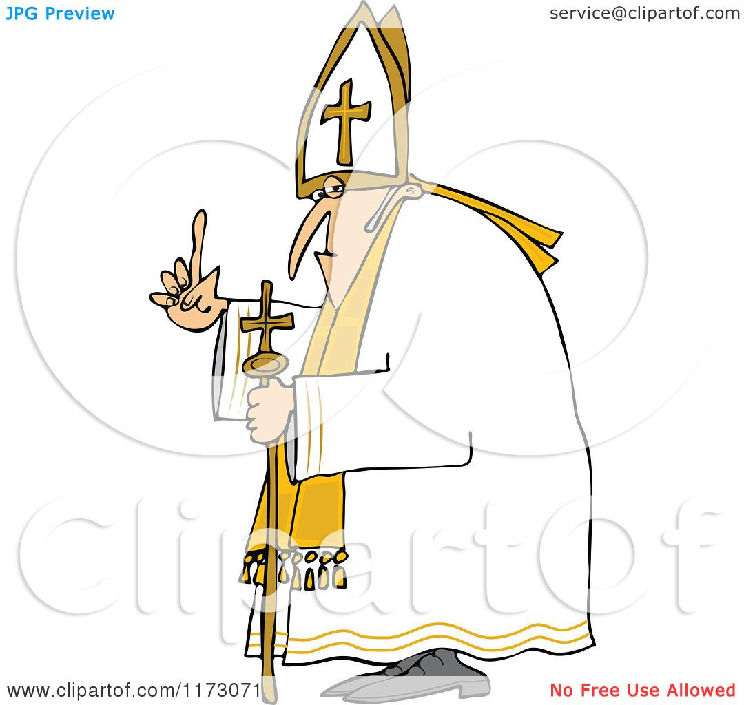 The Pope Hat Clipart P...