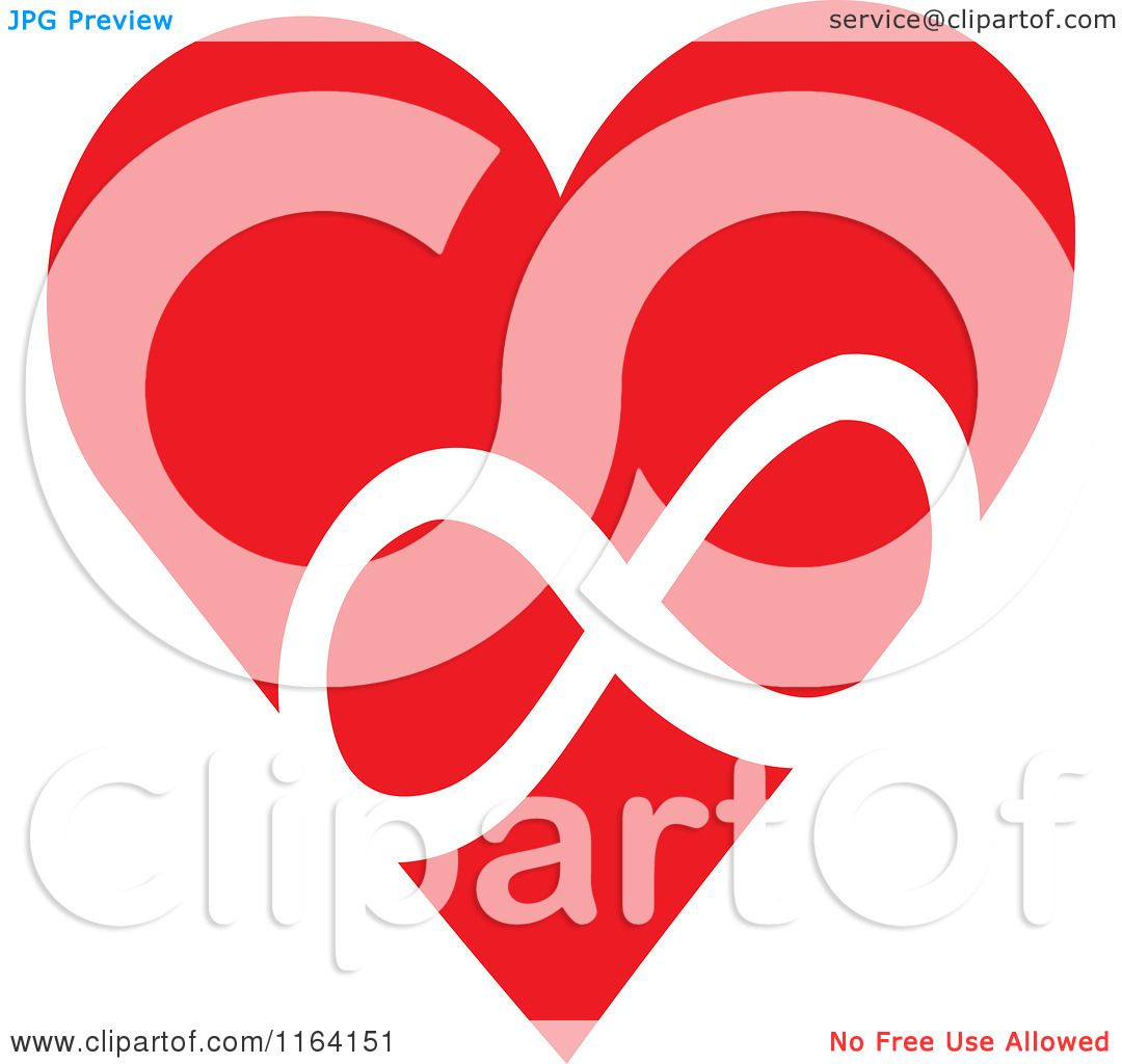 Cartoon of a red heart with a white infinity symbol royalty free cartoon of a red heart with a white infinity symbol royalty free vector clipart by johnny sajem buycottarizona Gallery