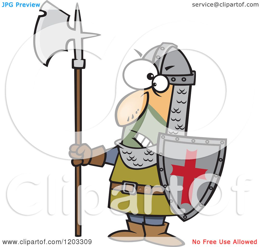 Cartoon Of An Angry Medieval Castle Guard With An Axe And Shield Royalty Free Vector Clipart 10241203309 including free construction coloring pages 1 on free construction coloring pages furthermore free construction coloring pages 2 on free construction coloring pages including kermit the frog coloring pages on free construction coloring pages as well as free construction coloring pages 4 on free construction coloring pages