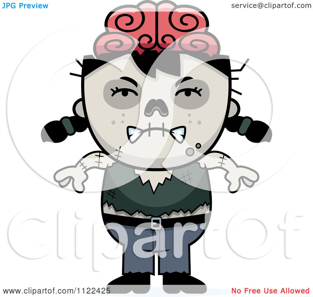 Free Clipart Angry Girl