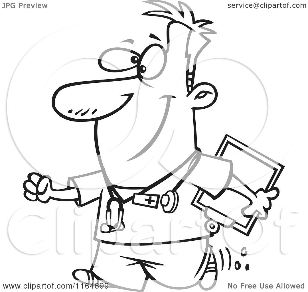 male nurse coloring pages - photo#40