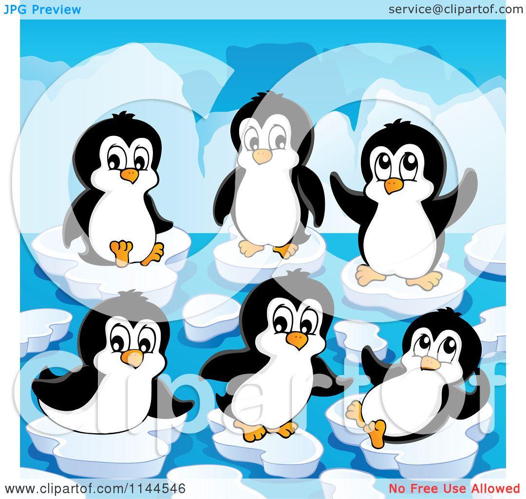 Cute Penguins Cartoon Cartoon of Cute Penguins