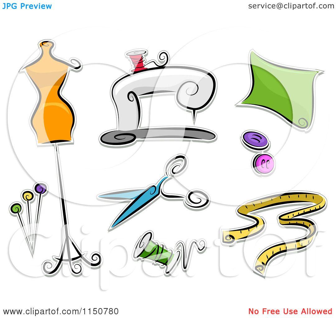 clipart dress making - photo #28