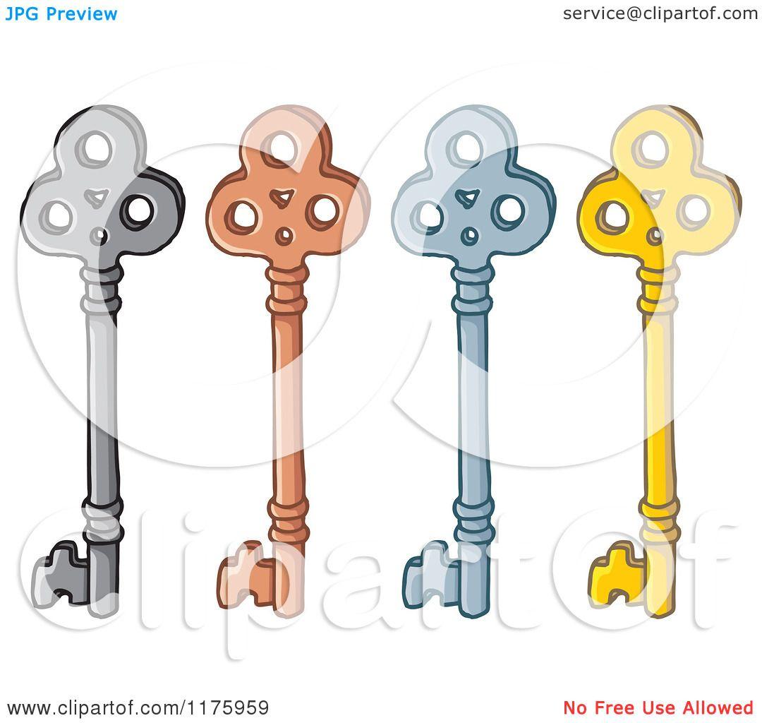 free images of skeleton keys