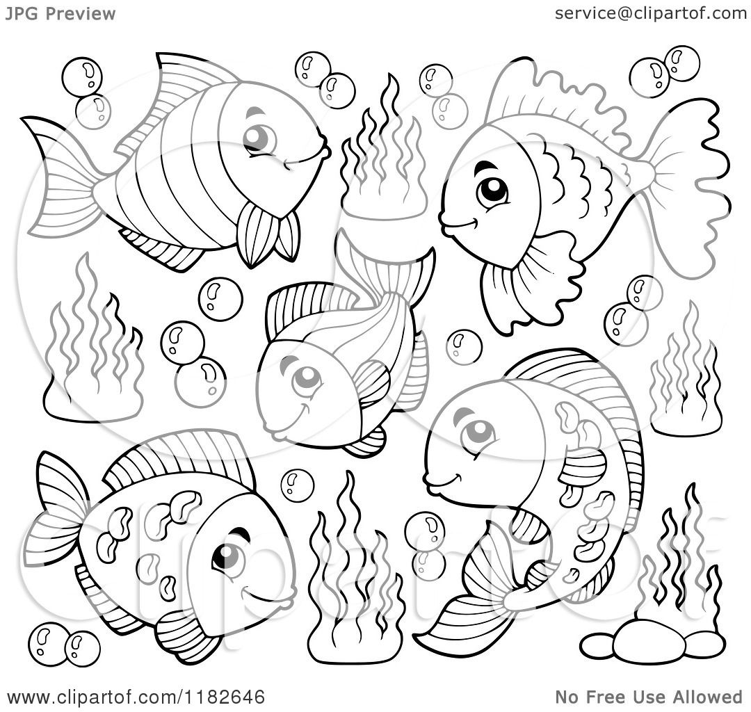 underwater bubbles coloring pages - photo#18