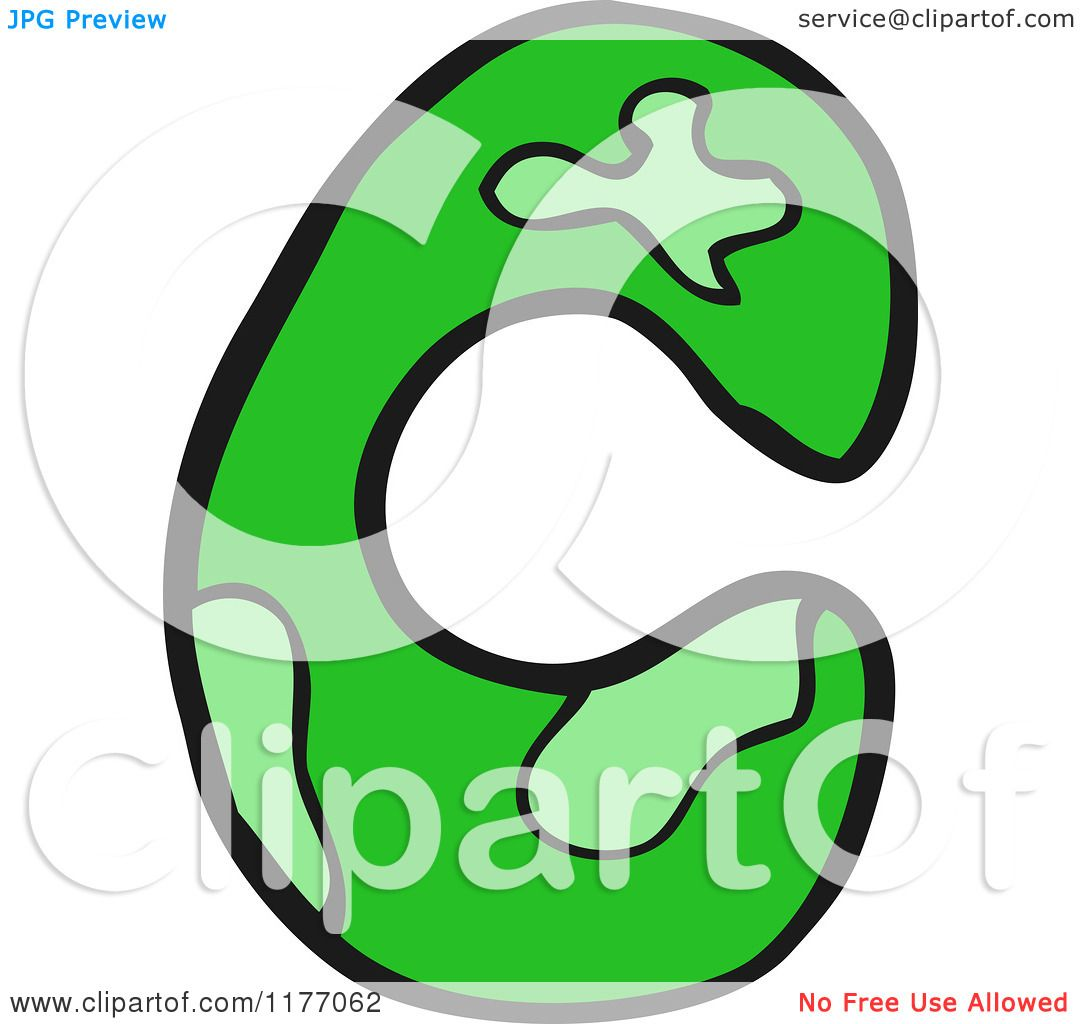Cartoon Of The Letter C
