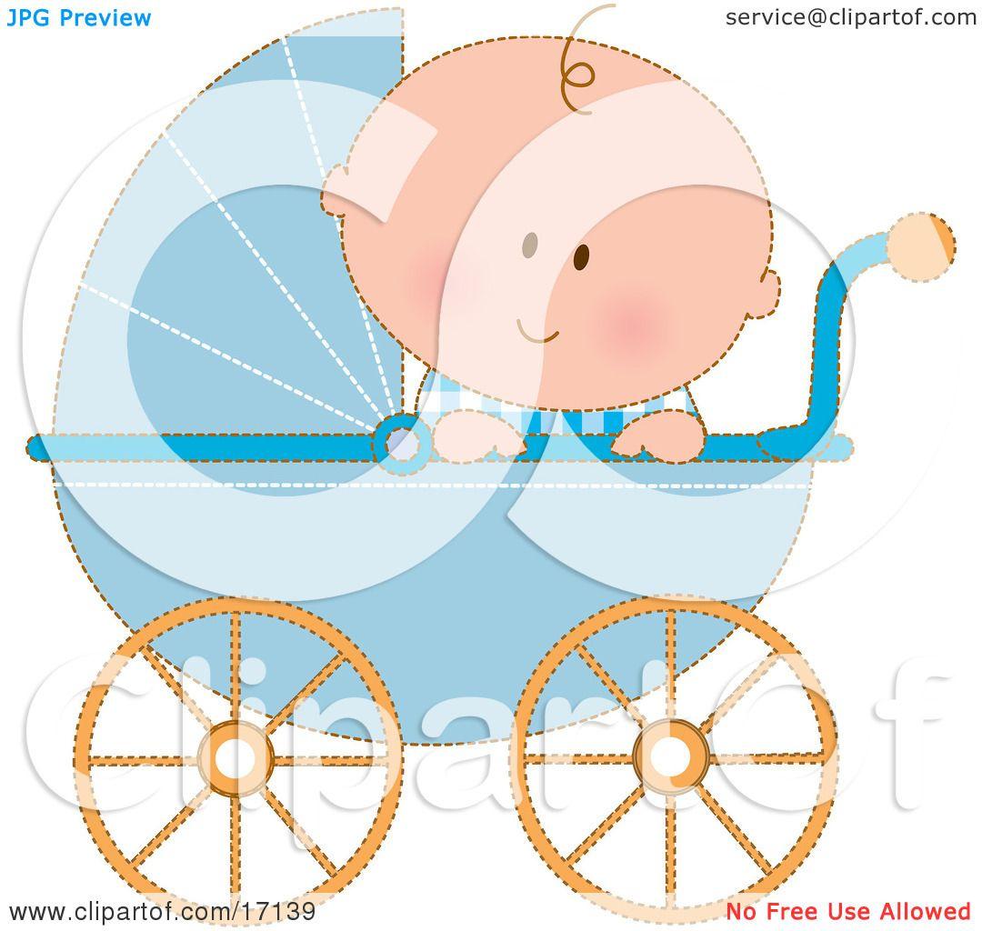 Watch more like Baby Boy Stroller Clip Art
