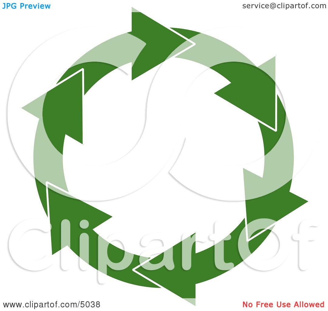 Recycle Symbol Circle Recycling Symbol Clipart