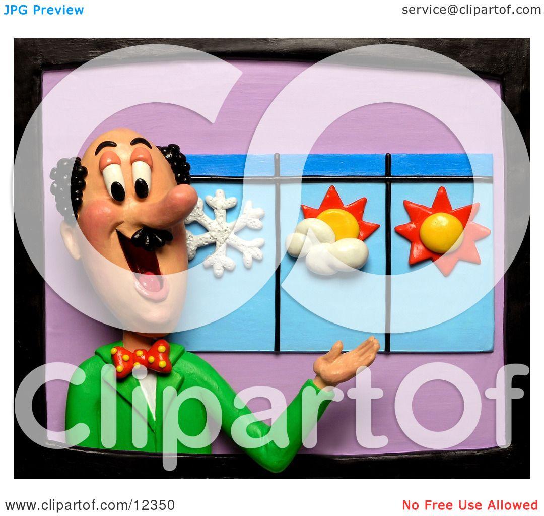 Clipart Meteorologist  Weatherman Clipart