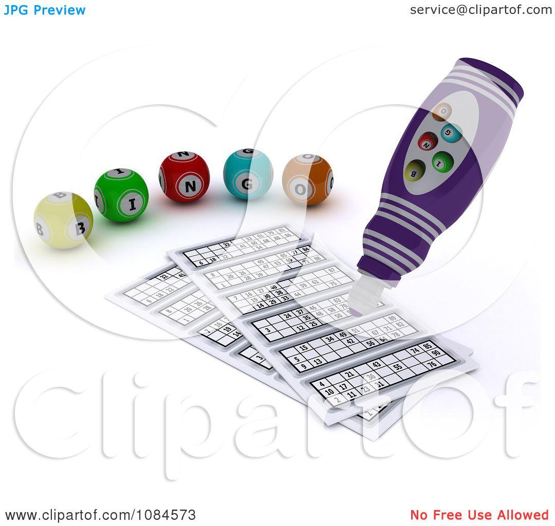 Free Bingo Balls Clipart