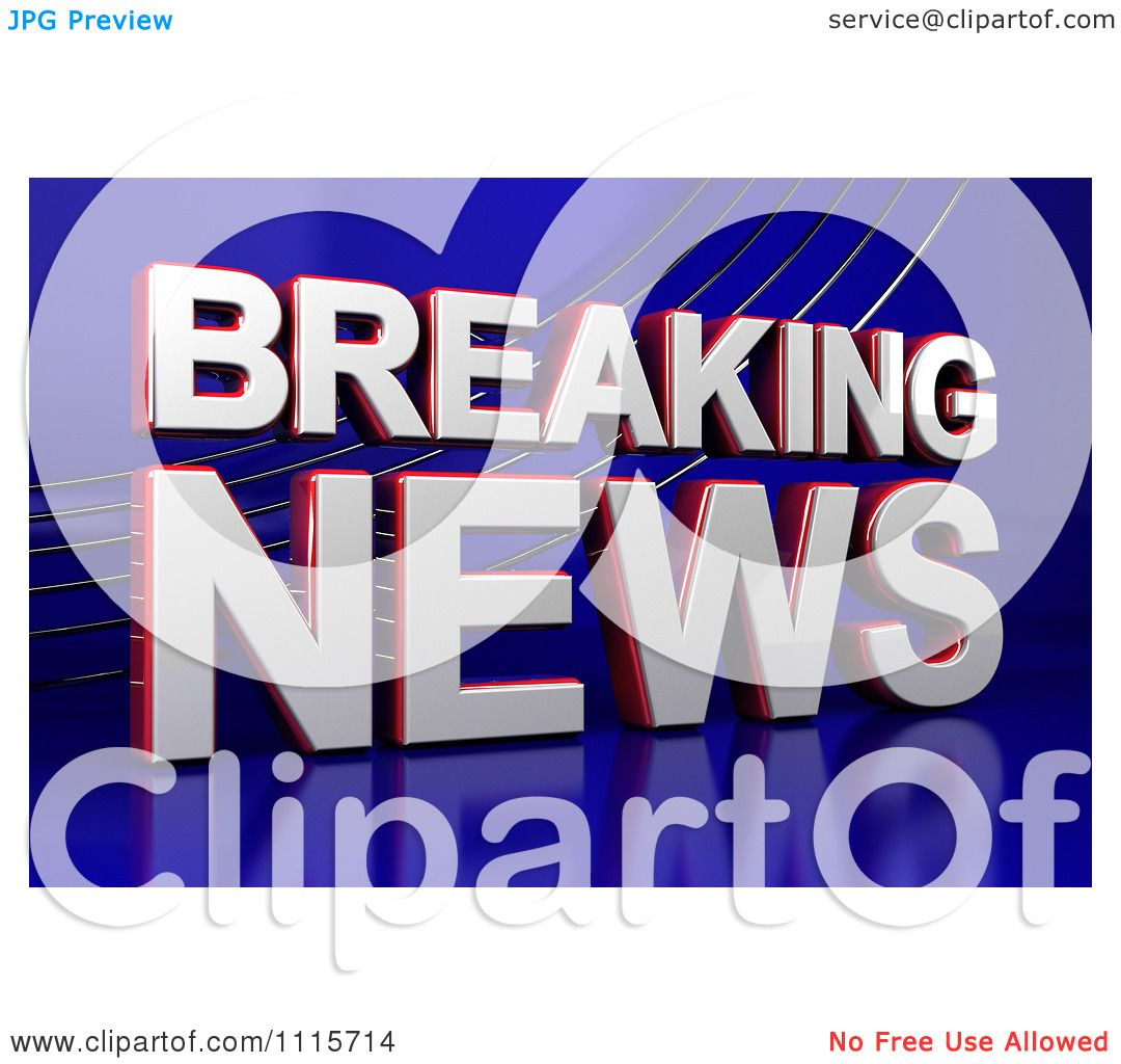 breaking news clipart - photo #49