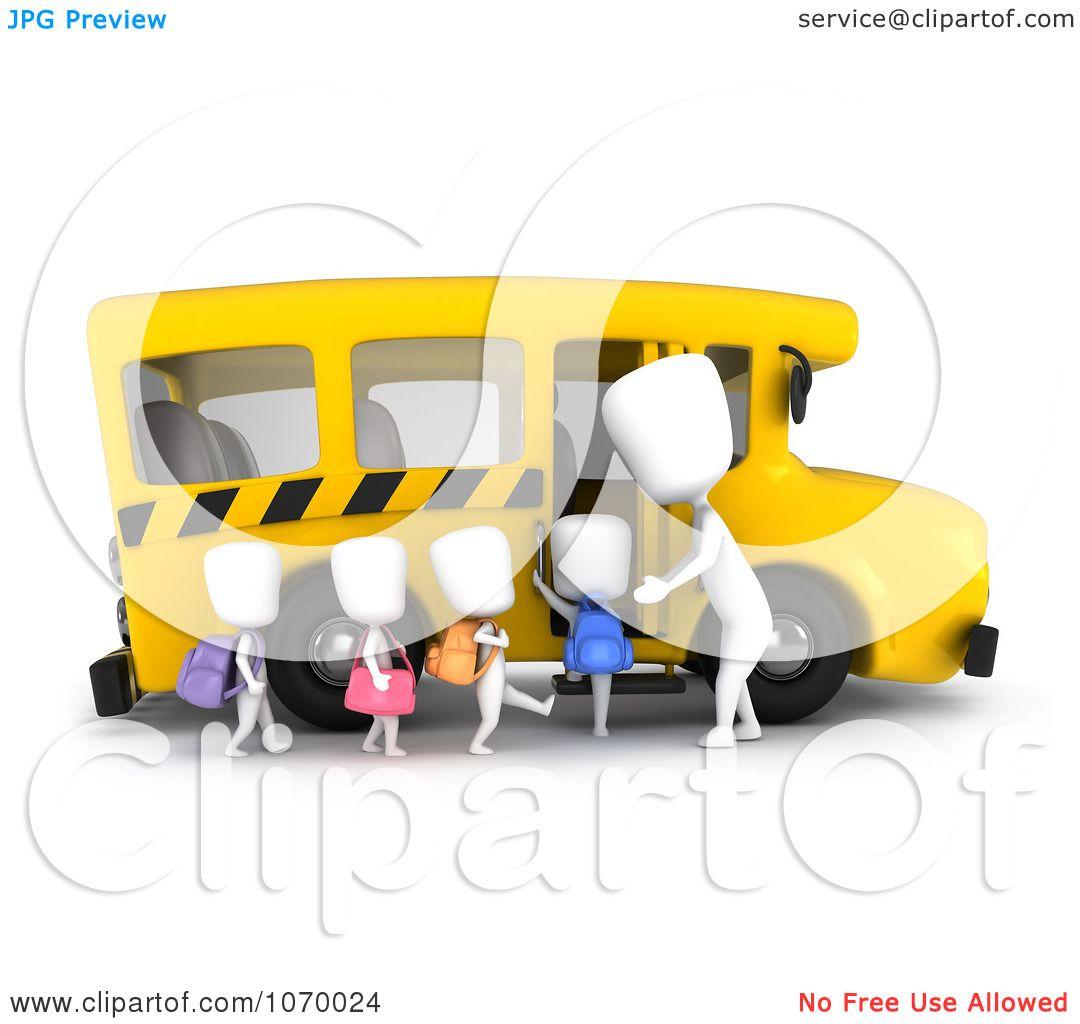 Clipart 3d ivory kids loading a school bus royalty free cgi clipart 3d ivory kids loading a school bus royalty free cgi illustration by bnp design studio voltagebd Choice Image