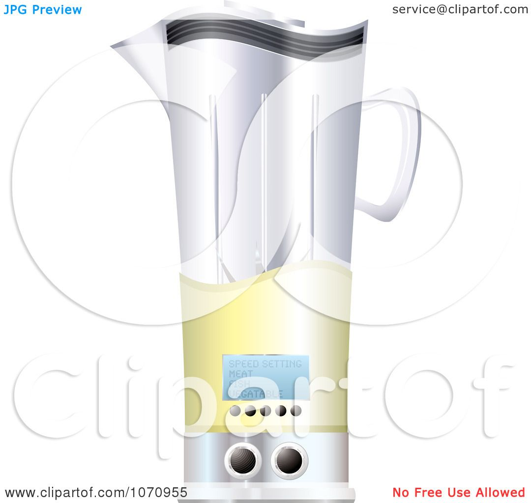 Blender Clip Art ~ Clipart d kitchen blender royalty free vector