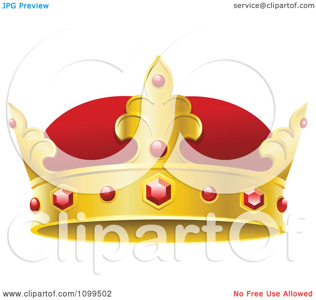Kings Crown And gold kings crown with