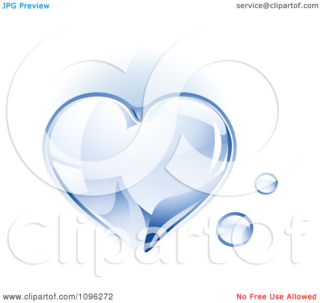 Water Droplet Tattoo Clipart 3d Shiny