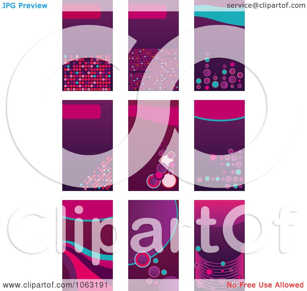 Clipart Abstract Business Card Backgrounds Digital Collage 5 ...