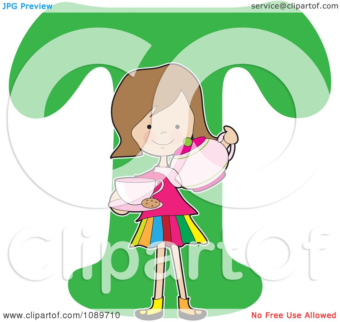 Clipart-Alphabet-Girl-Pouring-Tea-Over-Letter-T-Royalty-Free-Vector ...