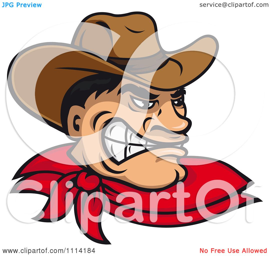 clipart angry wild west cowboy royalty free vector Free Wild West Silhouette Wild West Drawings