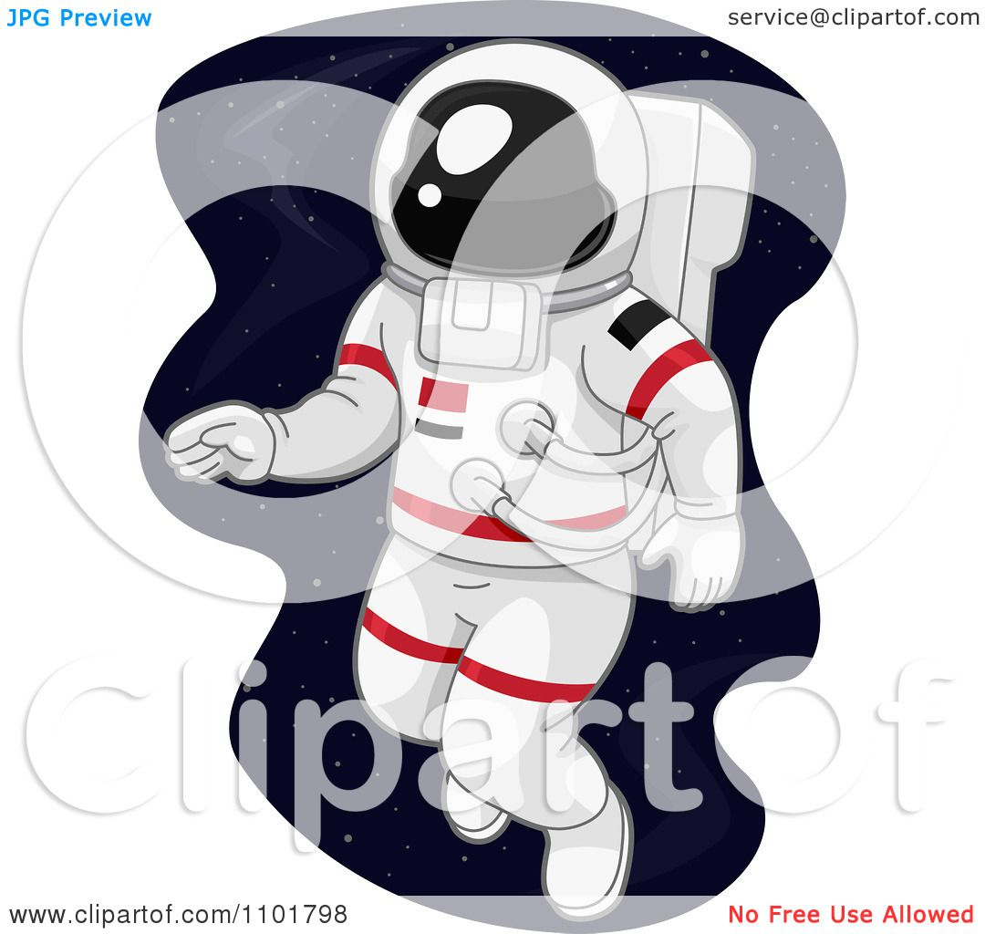 Clipart Astronaut Dabe...