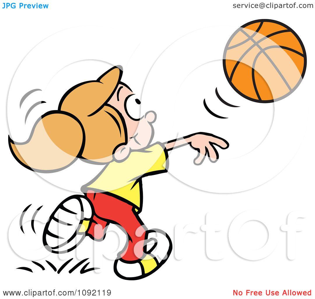 clipart athletic girl tossing a basketball royalty free vector rh clipartof com Pizza Clip Art Pizza Clip Art