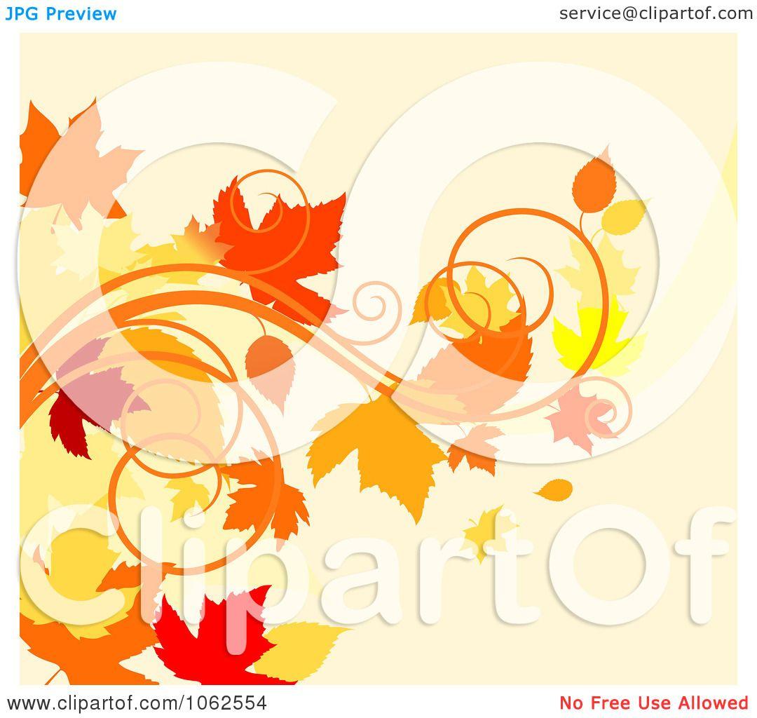 Clipart Autumn Backgro...