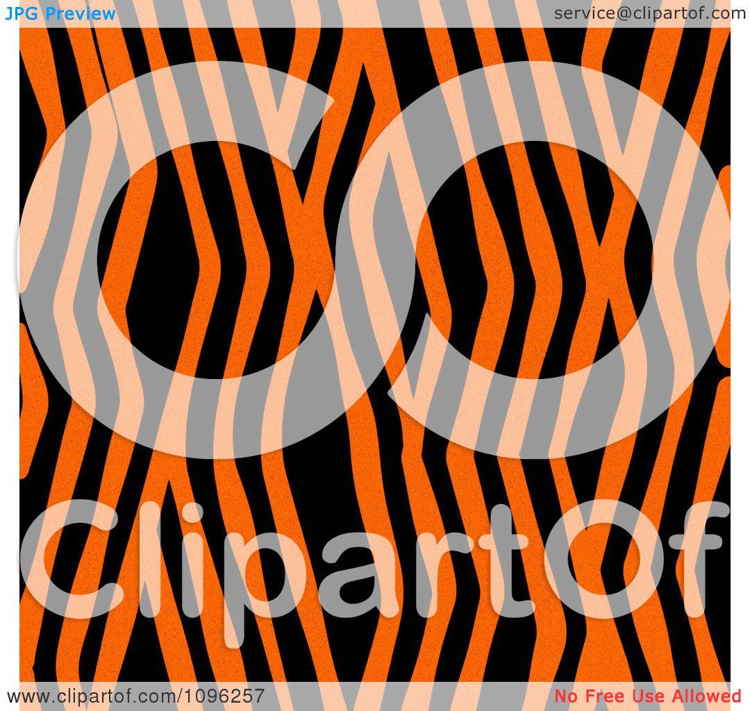 Clipart Background Pattern Of Zig Zag Zebra Stripes On Neon Orange -  Royalty Free Illustration by KJ Pargeter