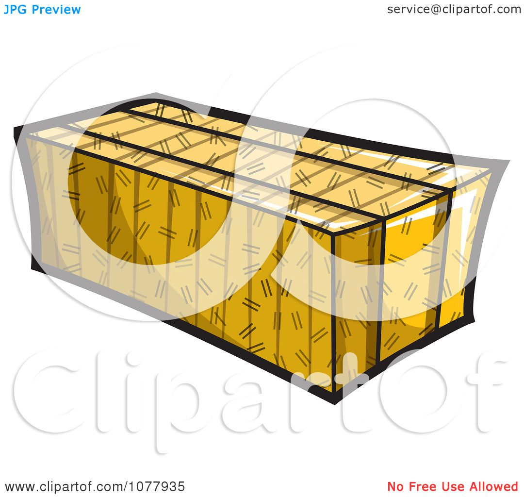 Hay Bale Clip Art : Clipart bale of hay royalty free vector illustration by