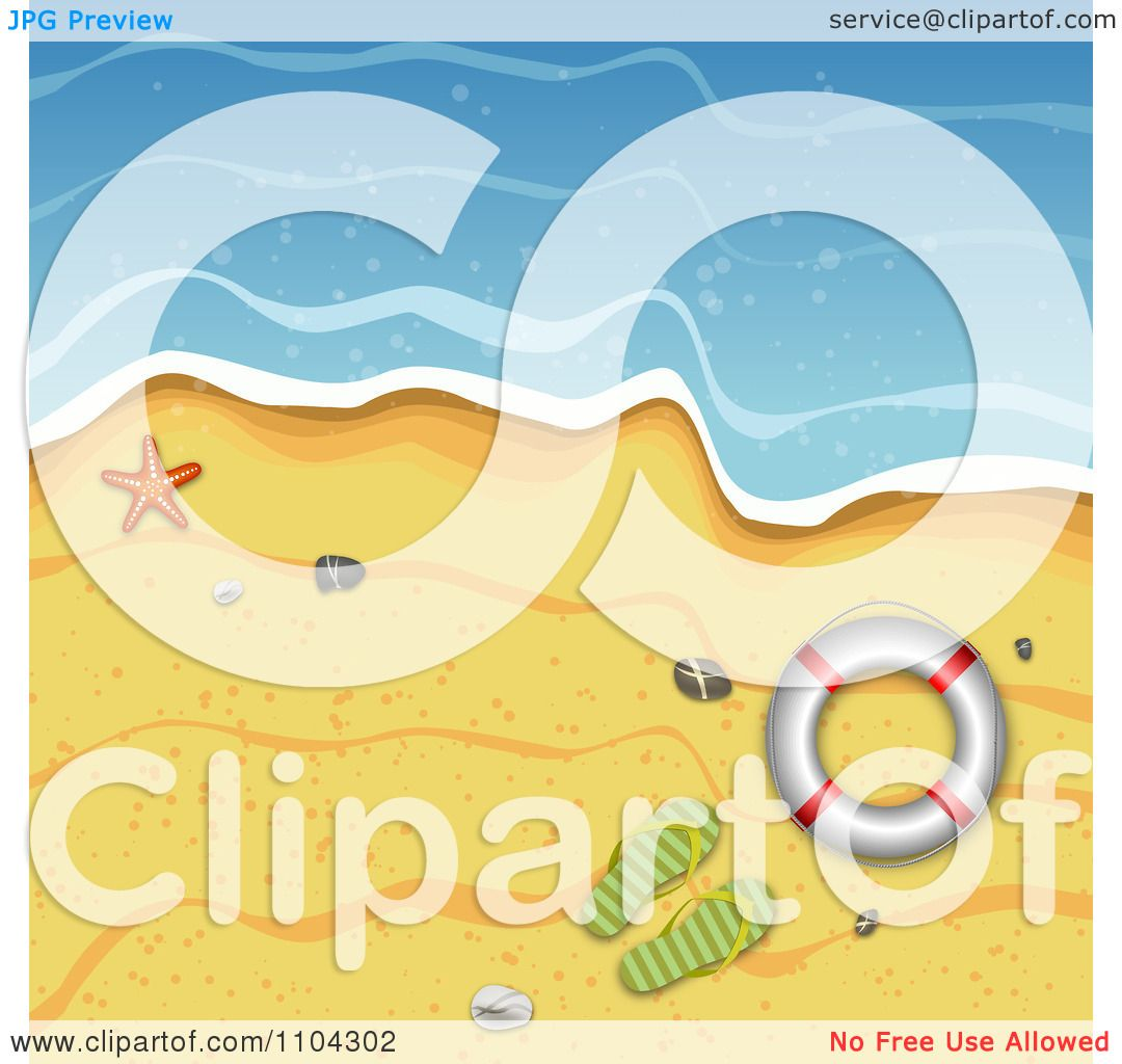 Beach Background Clipart Clipart Beach Surf And Sand