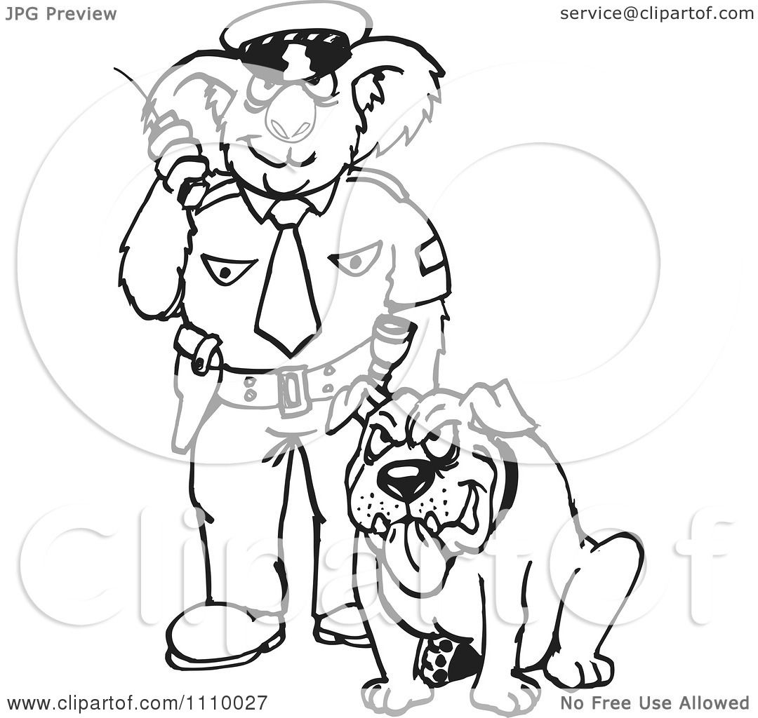 Related Keywords & Suggestions for Police Dog Clipart