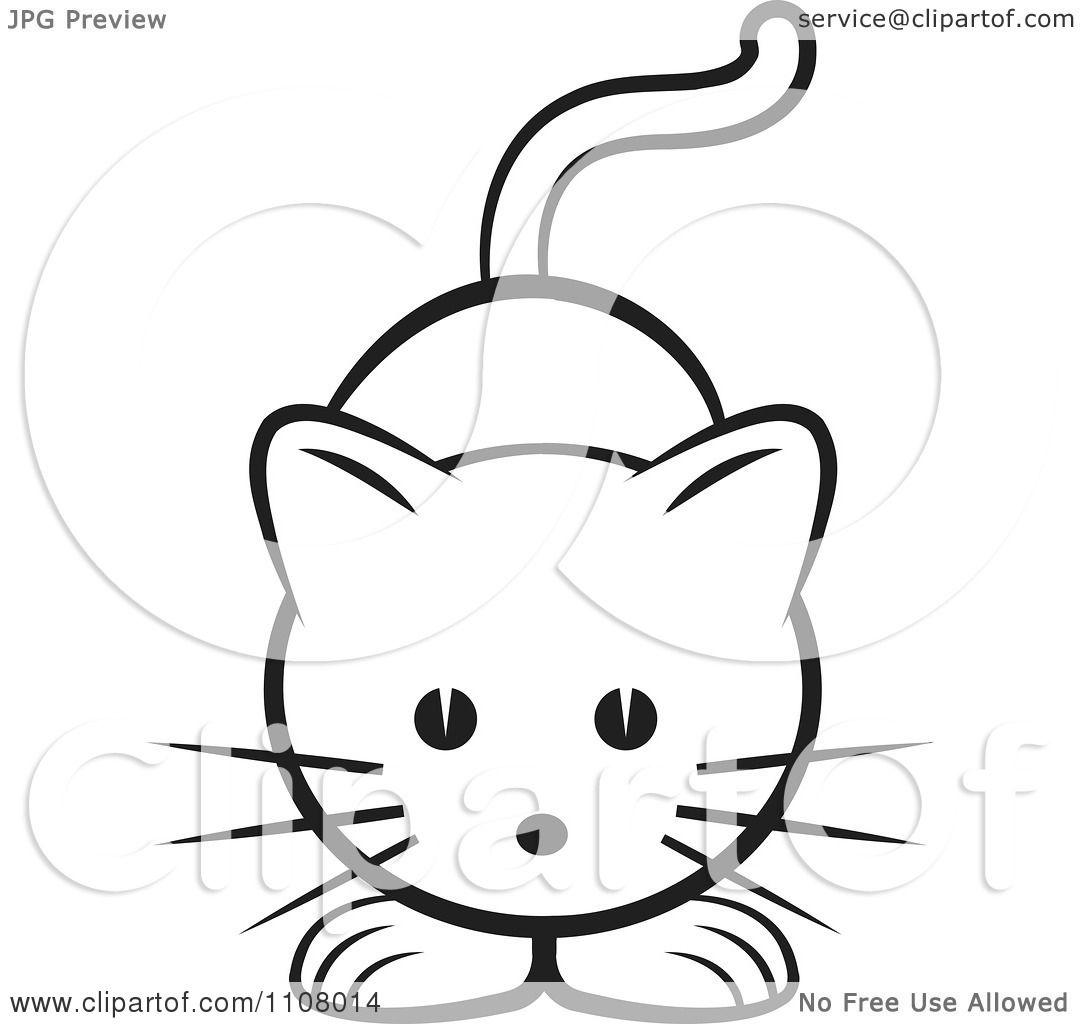 Free kitten clipart the cliparts - Clipartix |Cute Caterpillar Clipart Black And White