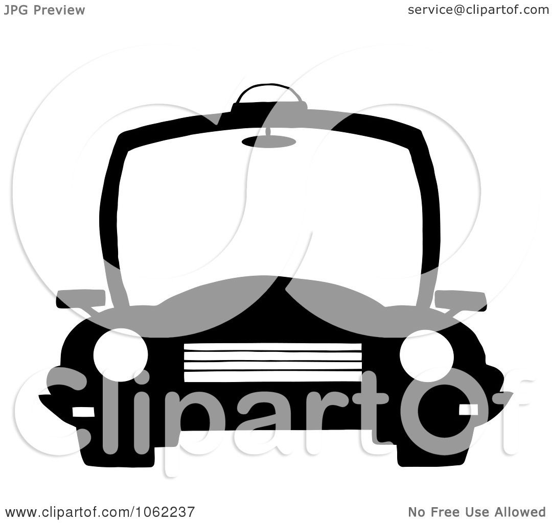 Clipart Black And White Police Patrol Car - Royalty Free ...