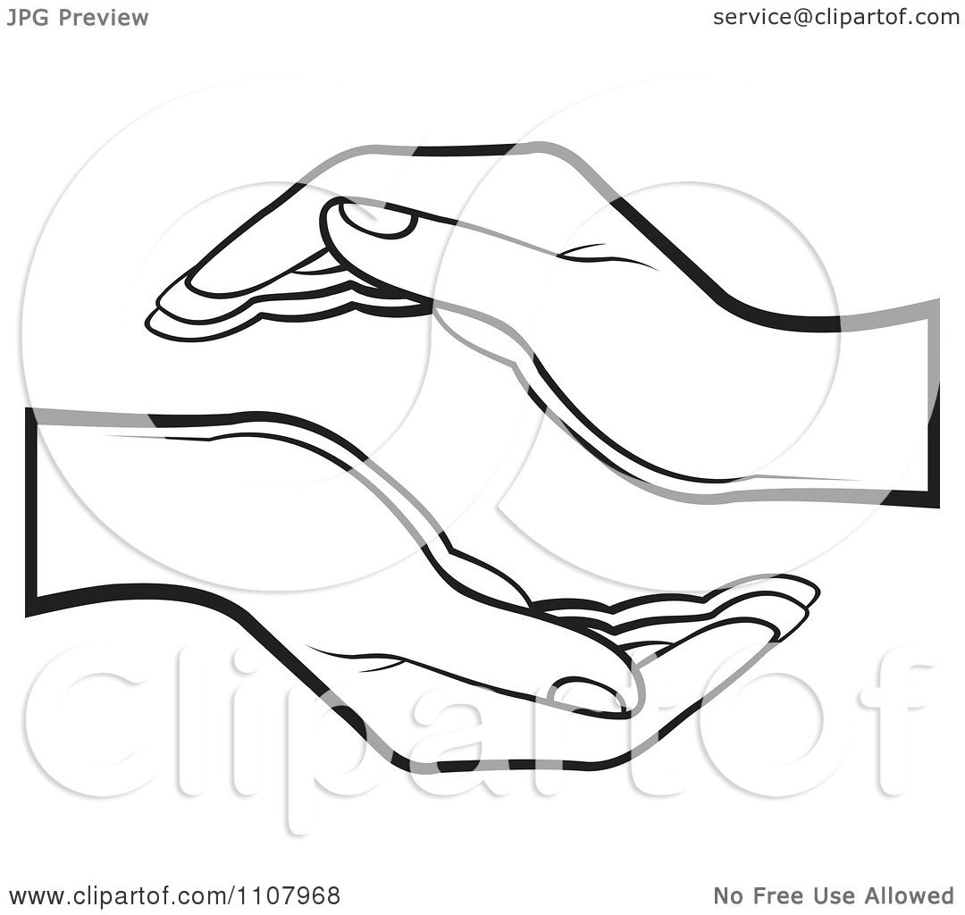 clipart black and white supportive human hands royalty Bloody Human Heart Clip Art Labeled Human Heart Clip Art