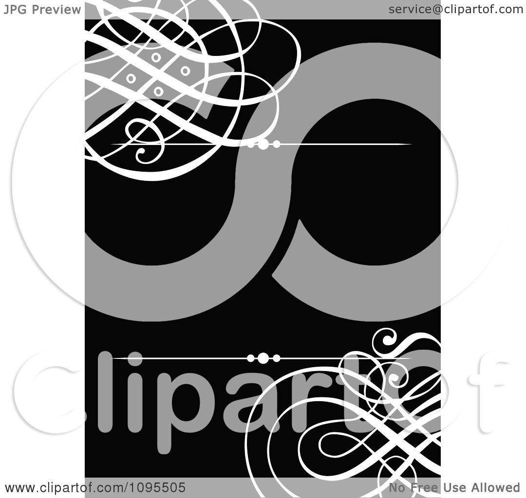 Clipart black and white swirl wedding invitation design with rules clipart black and white swirl wedding invitation design with rules and copyspace royalty free vector illustration by bestvector stopboris Image collections