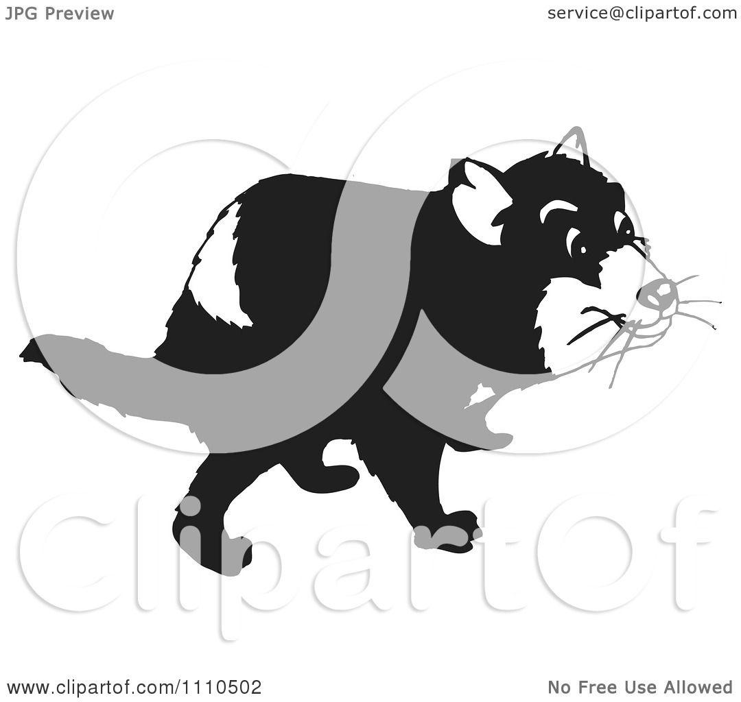 Vector Illustration Web Designs: Clipart Black And White Tasmanian Devil