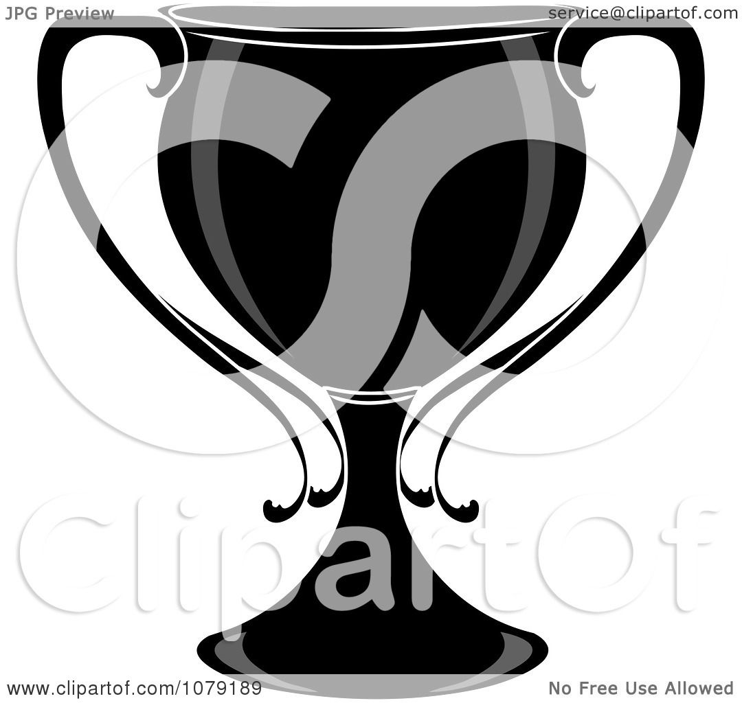 Clipart Black And White Trophy Cup