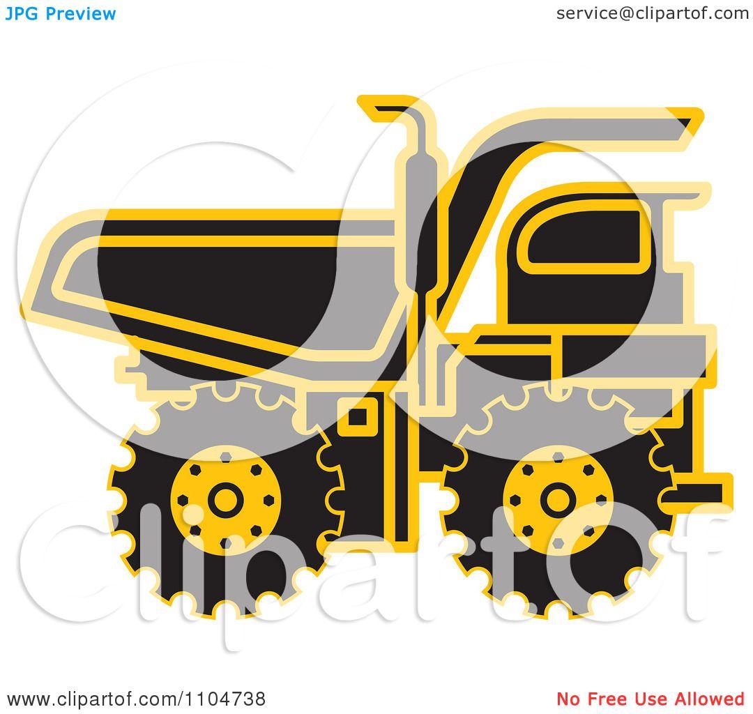 yellow truck clipart - photo #48