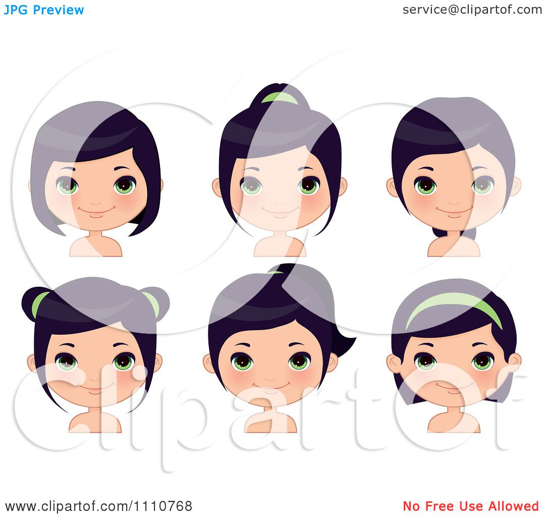 free clipart hairstyles - photo #12