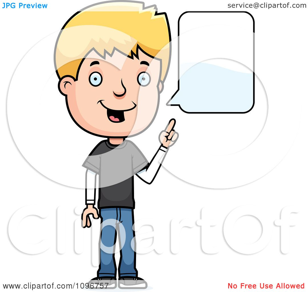 Gallery images and information boy speaking clipart