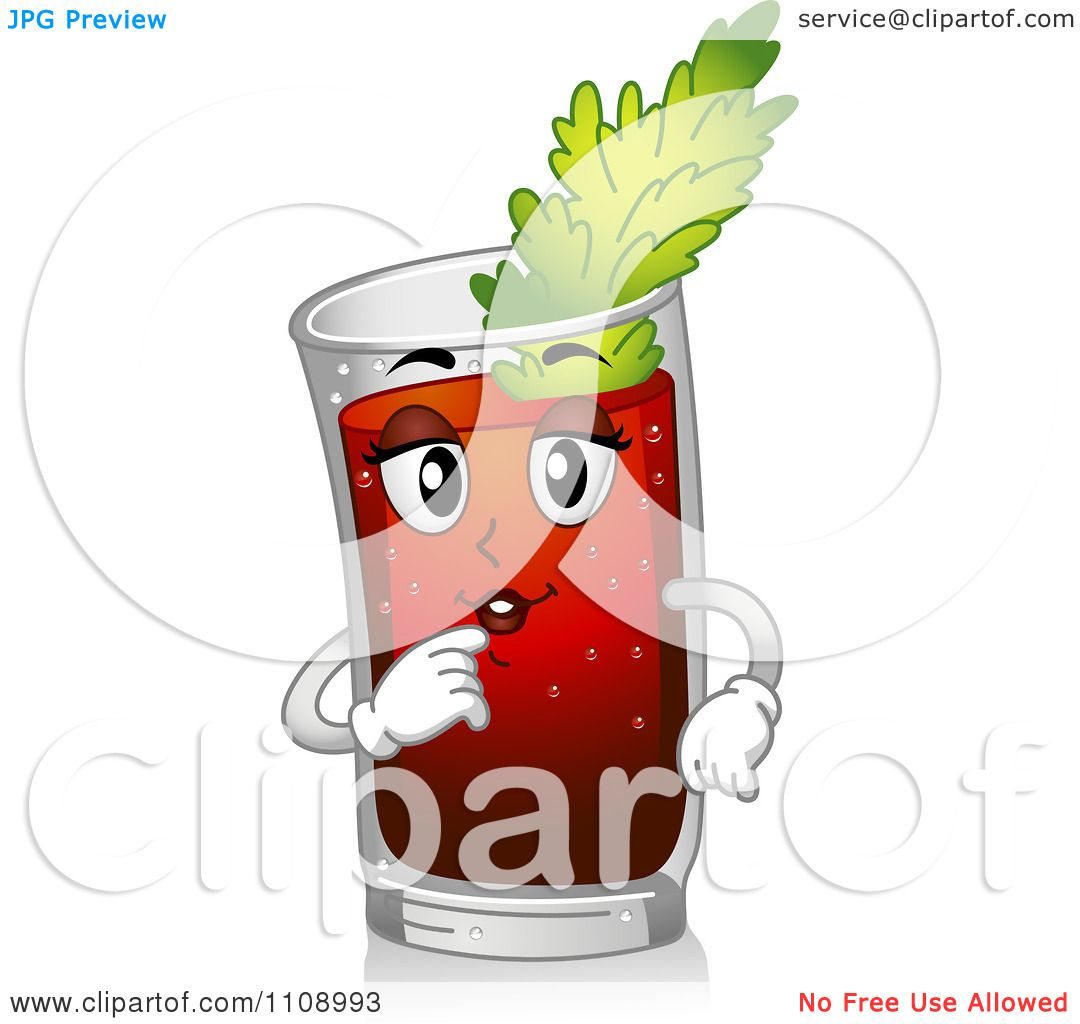 bloody mary drink clipart - photo #34