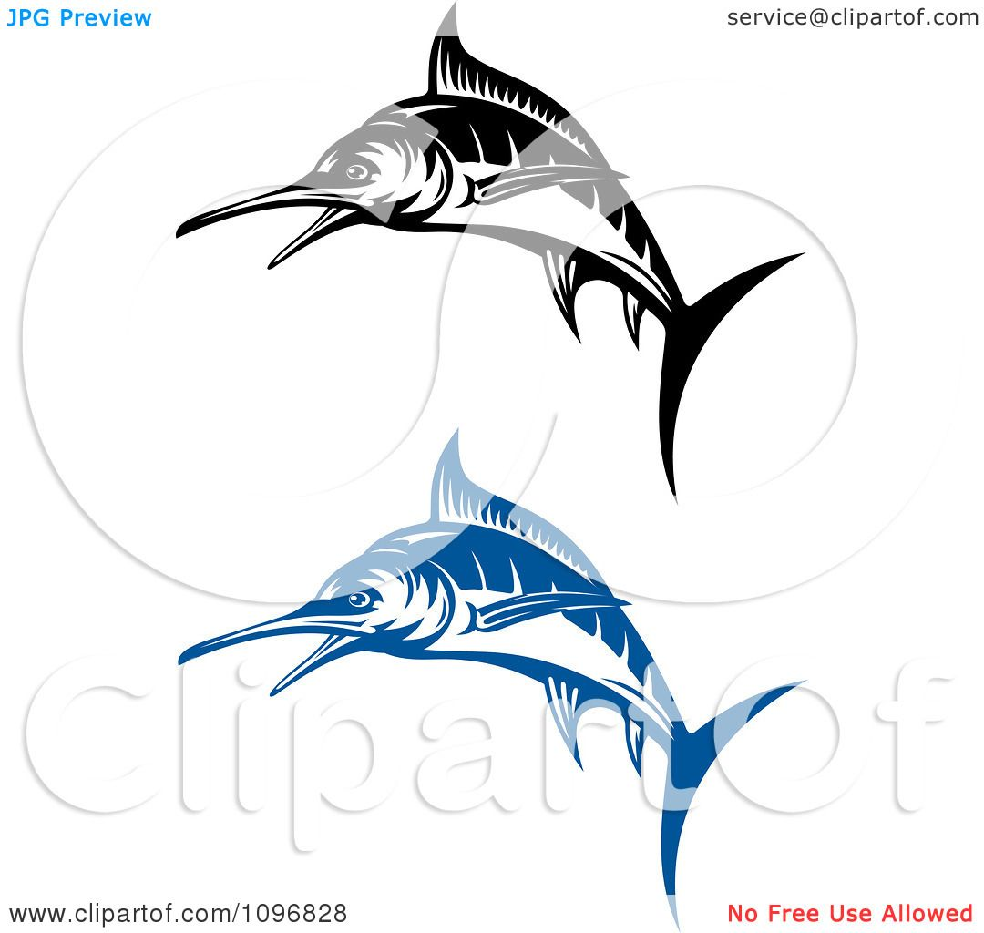 Blue Marlin Coloring Pages