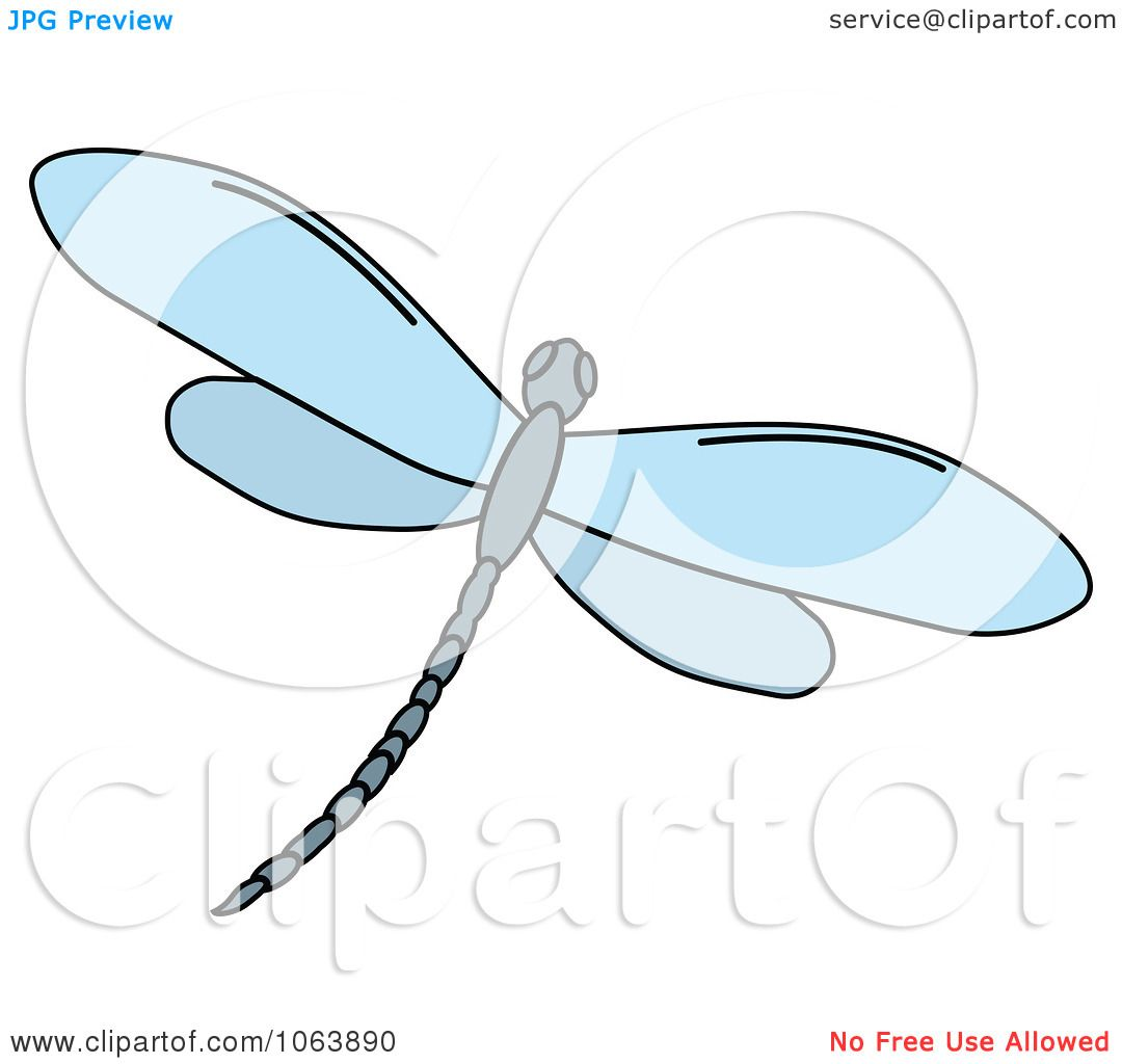 Cute Dragonfly Clipart Clipart Blue Dragonfly