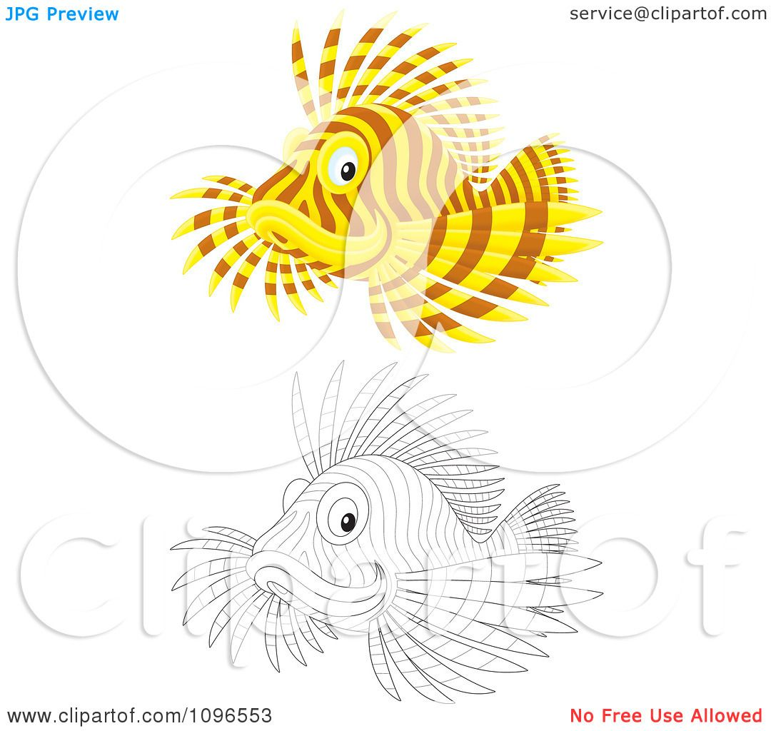 Magnificent Coloring Page Of Fish Composition - Coloring Page ...