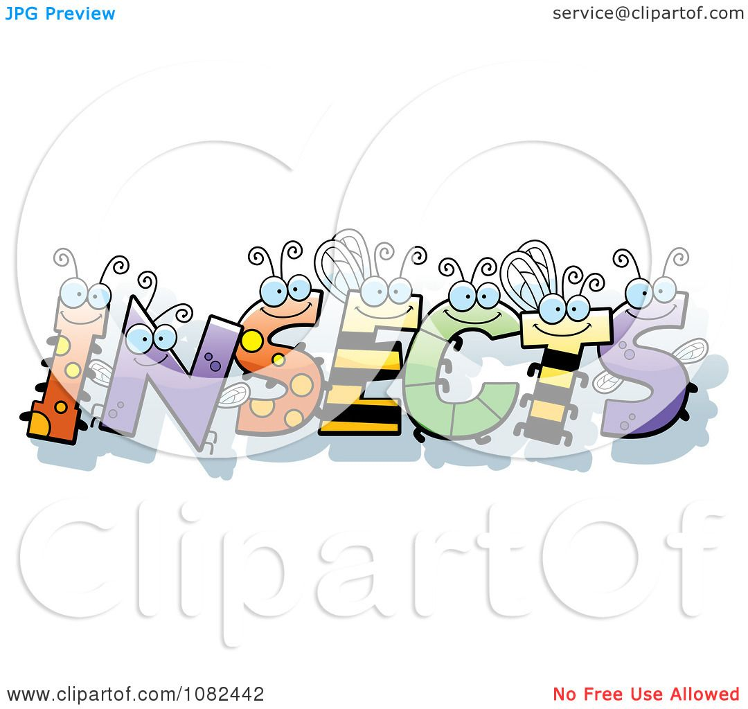 Clipart bug letters spelling insects royalty free vector clipart bug letters spelling insects royalty free vector illustration by cory thoman ccuart Choice Image